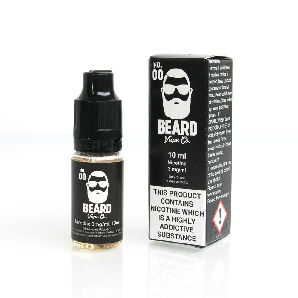 Beard Vape No. 00 e liquids