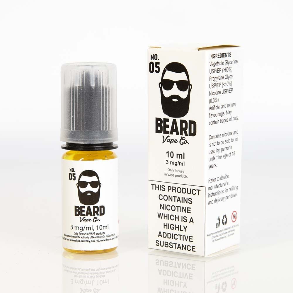 box Beard Vape No. 05 e liquid