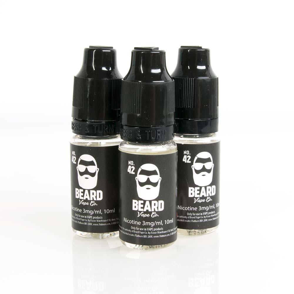 Beard Vape No. 42 e liquid