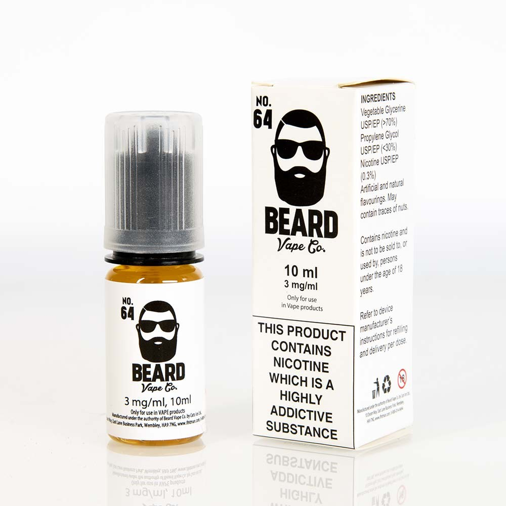 box Beard Vape No. 64 ELIquid