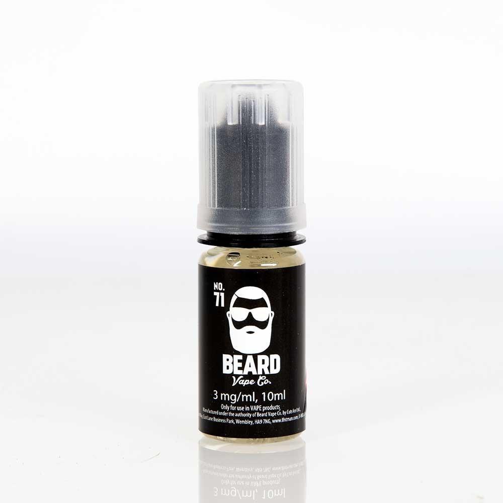 10ml Beard Vape No. 71 E Liquid