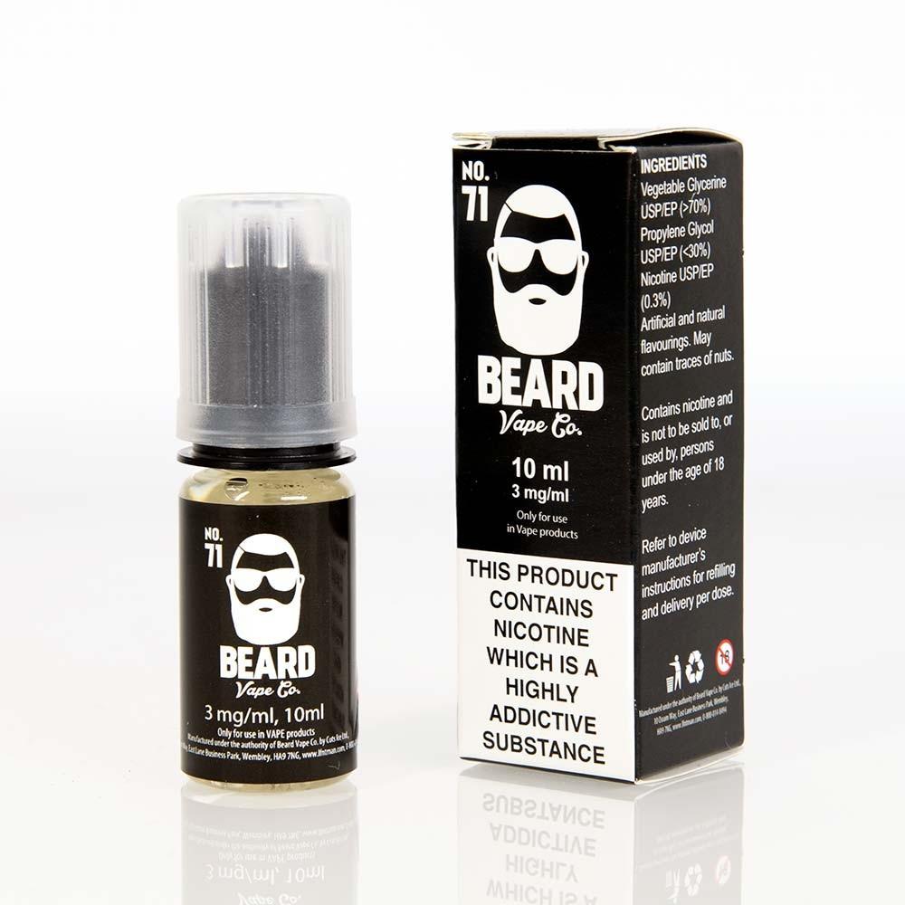 box Beard Vape No. 71 E Liquid