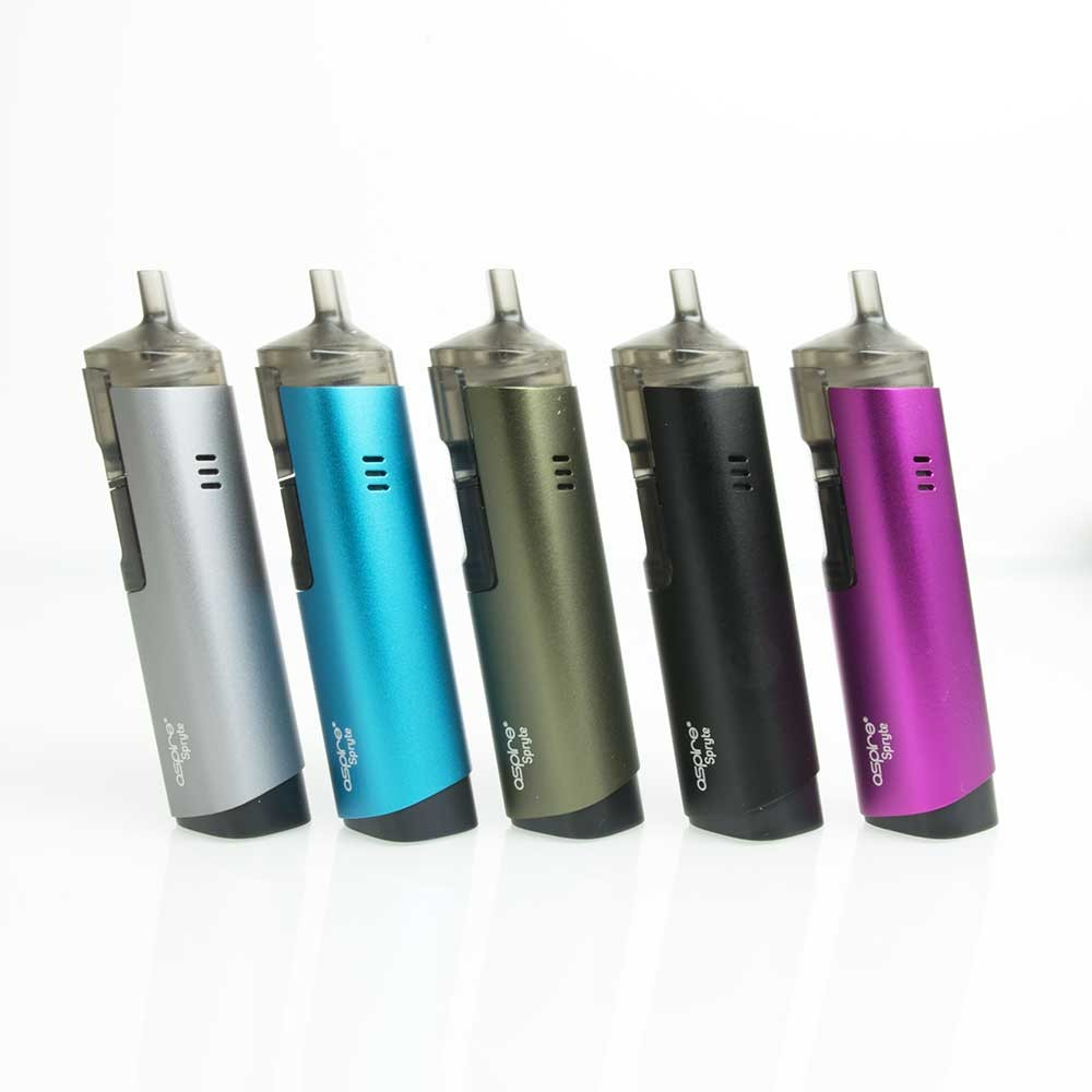 Aspire Spryte AIO Vape Kit colour options1