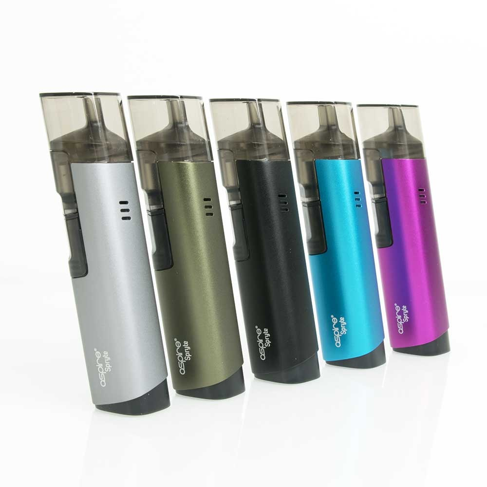Aspire Spryte AIO Vape Kit colour options2