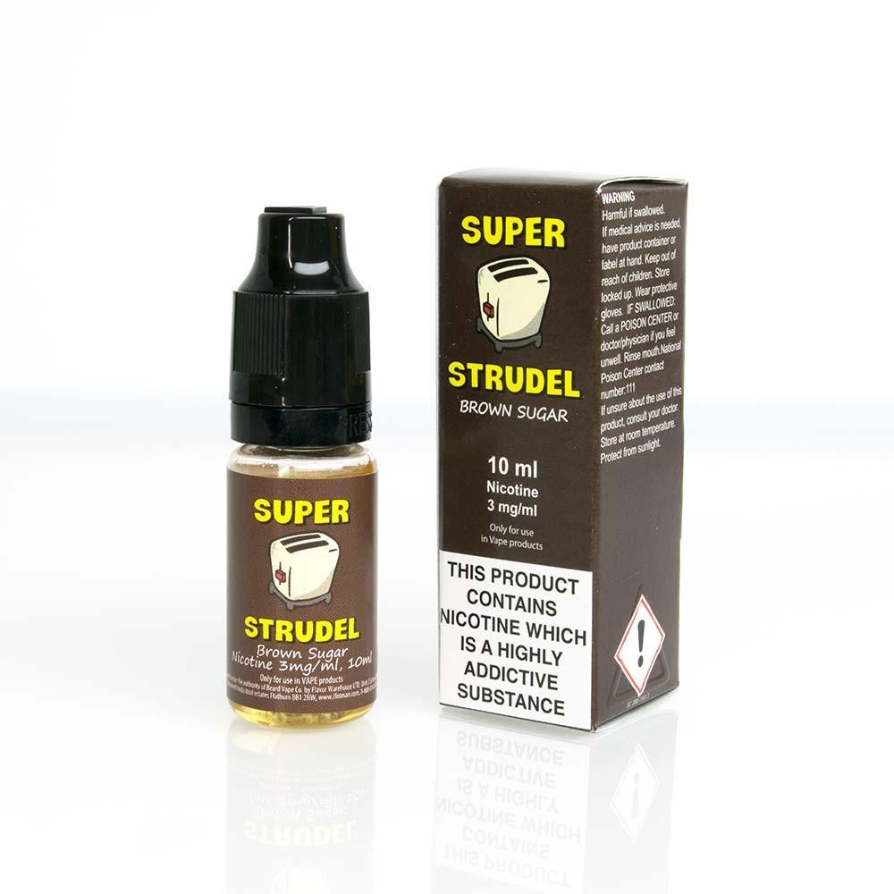 Super Strudel Brown Sugar with box ejuice