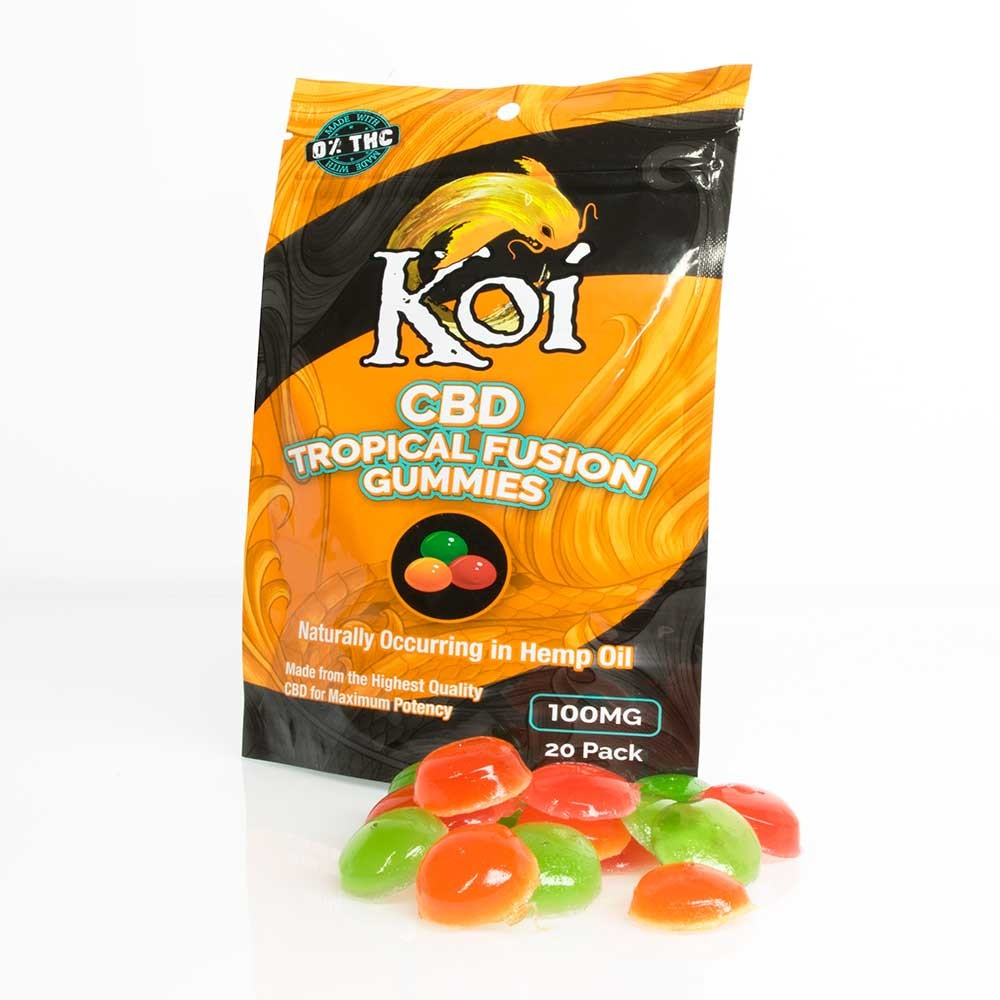 Koi CBD Tropical Fusion Gummies