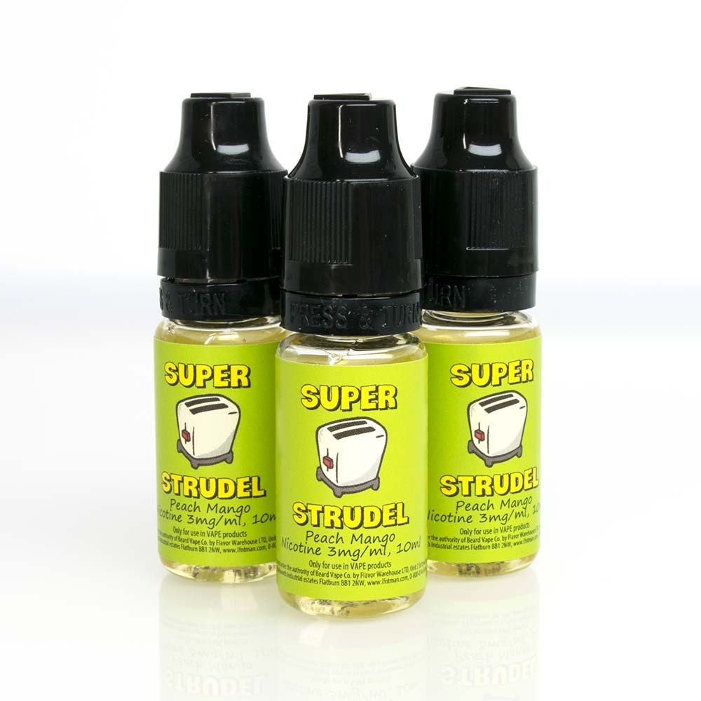 Super Strudel Mango Peach ejuice