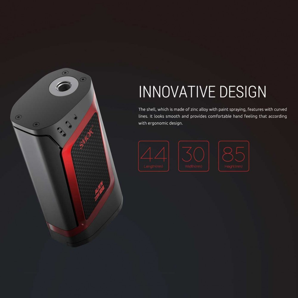 Smok ALIEN features3