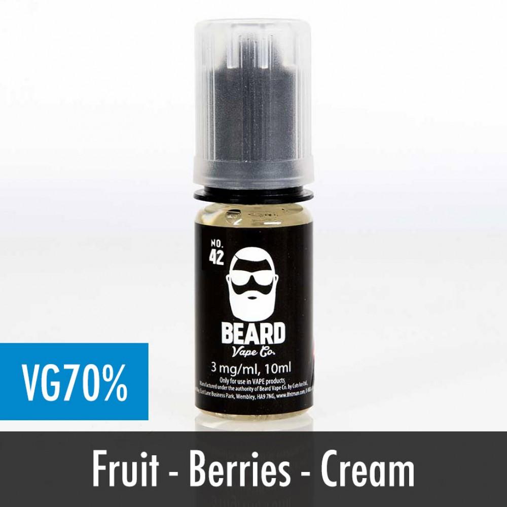 Beard Vape No. 42 eliquid