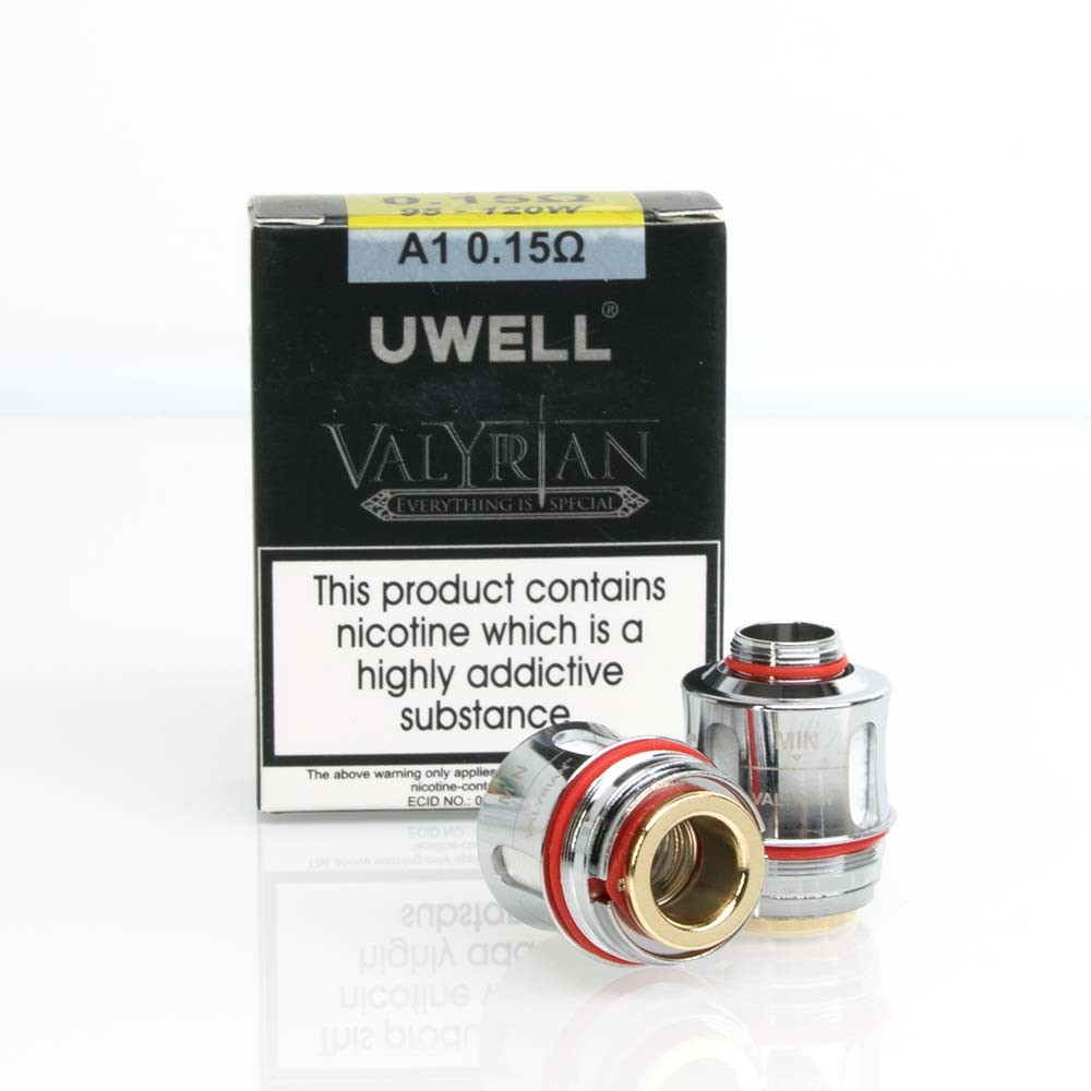 Uwell Valyrian Replacement Coils - 0 15 Ohm - 2 Pack