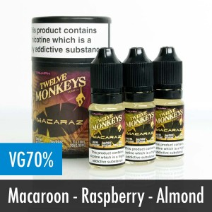 Twelve Monkeys Macaraz e liquid