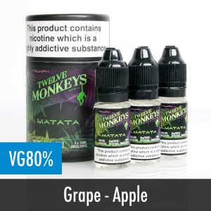 Twelve Monkeys Matata e liquid