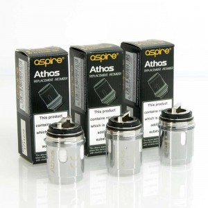 Aspire Athos Replacement Coils x3 group