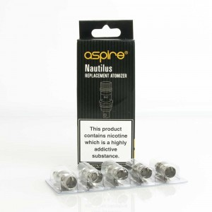 Nautilus 2 Replacement Coils - 0.7 Ohm - 5 Pack