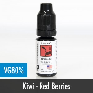 Element Kiwi Redberry eliquid