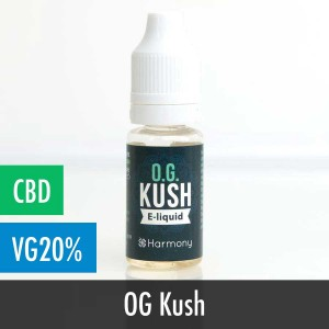 Harmony OG Kush CBD E-Liquid