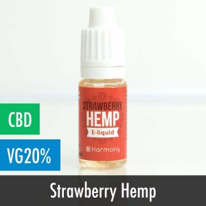 Harmony Strawberry Hemp CBD E-Liquid