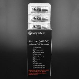 Kanger 1.5(Ω) VOCC-T Coil (5 Pack) 1