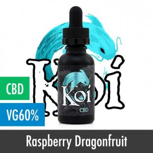 Koi Blue Raspberry Dragonfruit CBD E-Liquid