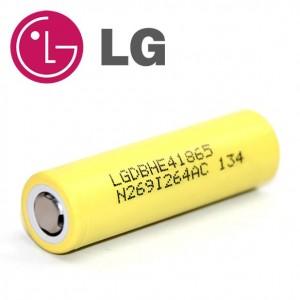 LG HE4 18650 2500mah 35Amp Battery