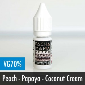 Pacha Mama Peach Papaya Coconut e liquid