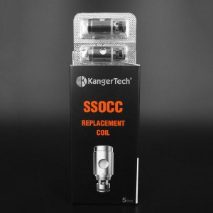 Kanger 0.5(Ω) SSOCC Stainless Steel Coil (5 Pack) 1