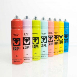 ZAP ShortFill E Liquid full range