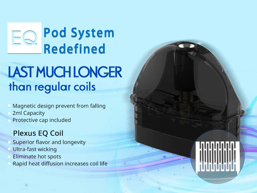 eq aio pod kit specification