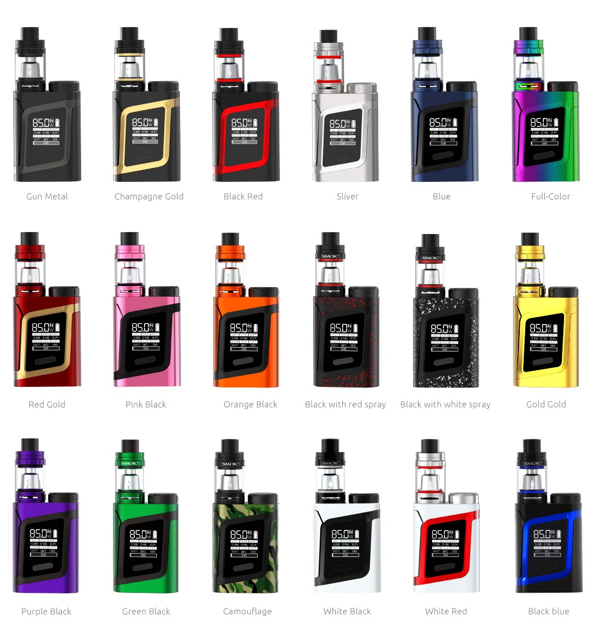 Smok AL85 Alien Baby includes