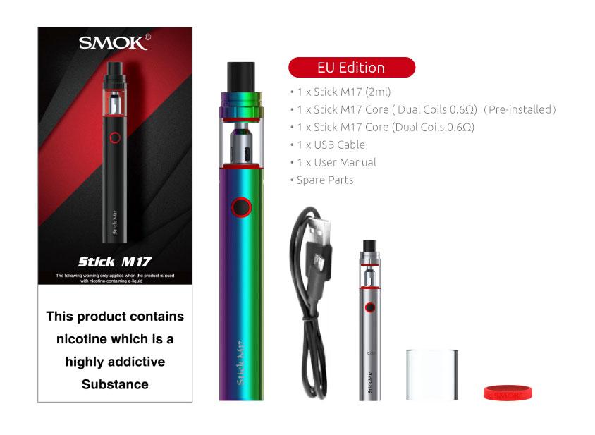 Smok m17 contents
