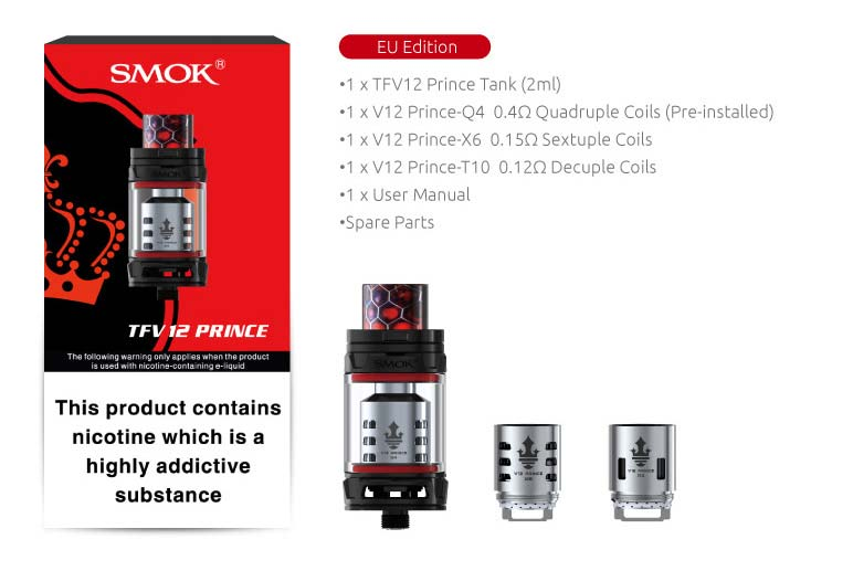 tfv12 prince contents