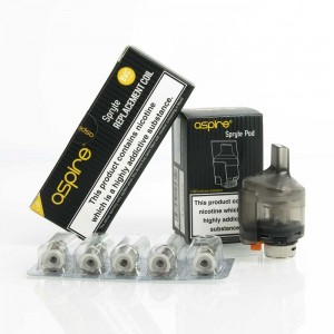 Aspire Spryte Replacement Coils & Pods